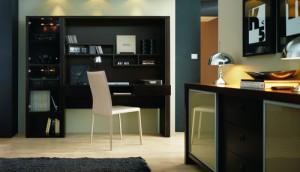 décoration bureau et étagères