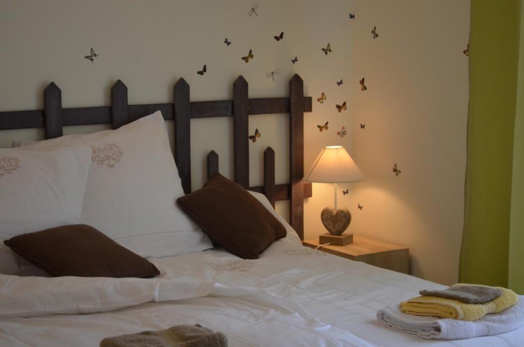 tête de lit originale palissade