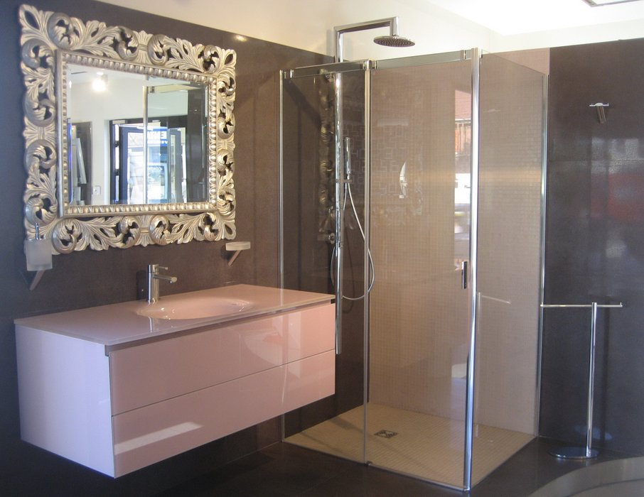 comment decorer un miroir de salle de bain. Black Bedroom Furniture Sets. Home Design Ideas