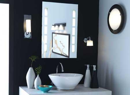 applique salle de bain. Black Bedroom Furniture Sets. Home Design Ideas