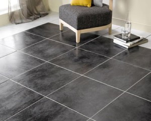 Bien choisir le carrelage de son salon for Carrelage hexagonal noir mat
