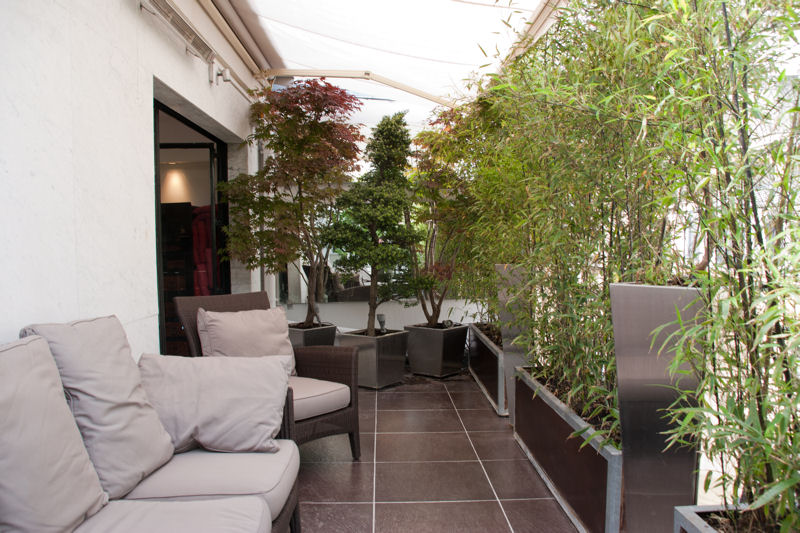 Transformer un balcon d 39 appartement en terrasse cosy - Amenagement balcon paris ...