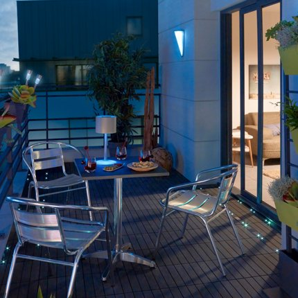 Decoration balcon terrasse appartement - Amenager petit balcon appartement ...