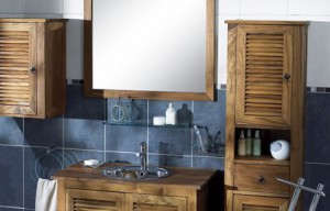 r aliser une d coration mer dans sa salle de bain. Black Bedroom Furniture Sets. Home Design Ideas