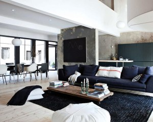 Créer une ambiance loft dans son salon
