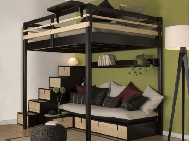 am nagement d 39 une mezzanine nos conseils d co. Black Bedroom Furniture Sets. Home Design Ideas