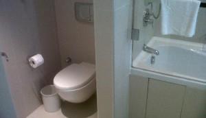 emplacement toilettes salle de bain