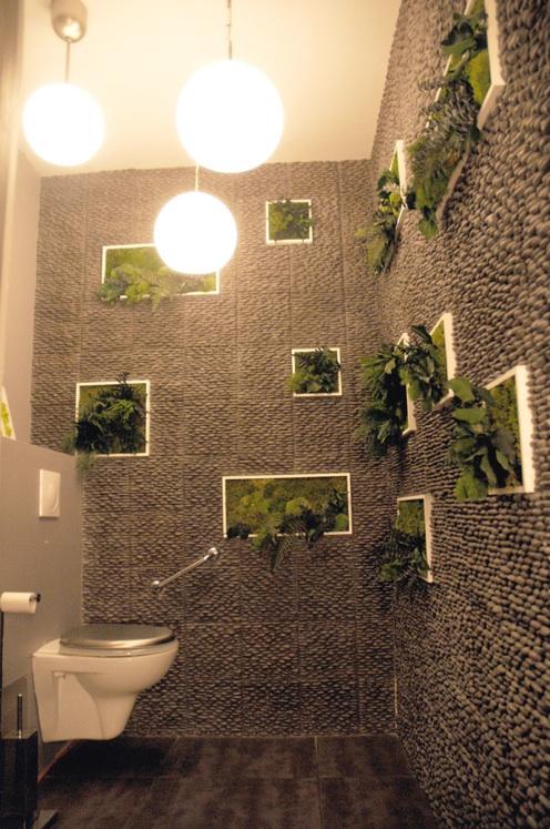 déco wc nature