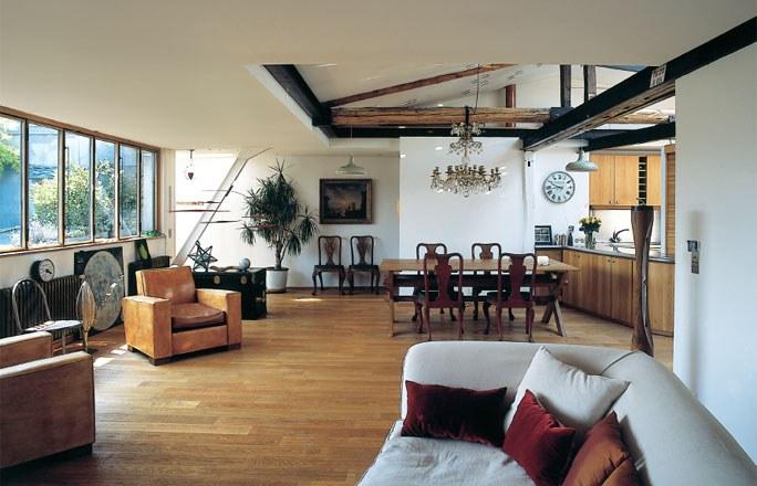 Bien d corer les poutres de sa maison nos conseils d co - Decoration poutre en bois ...