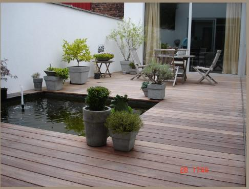 Am nager la terrasse de son jardin en espace d tente for Photo decoration jardin