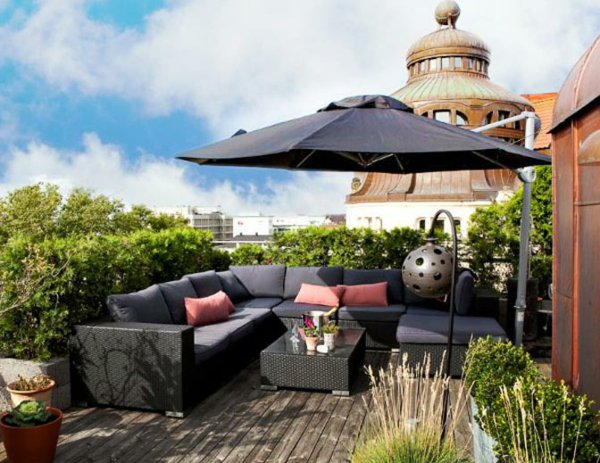 d co terrasse parasol. Black Bedroom Furniture Sets. Home Design Ideas
