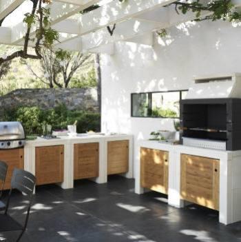 je veux une cuisine d 39 ext rieur les meilleurs conseils. Black Bedroom Furniture Sets. Home Design Ideas