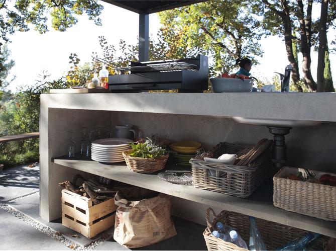 rangement cuisine extérieur