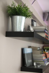 décoration salon fleurs